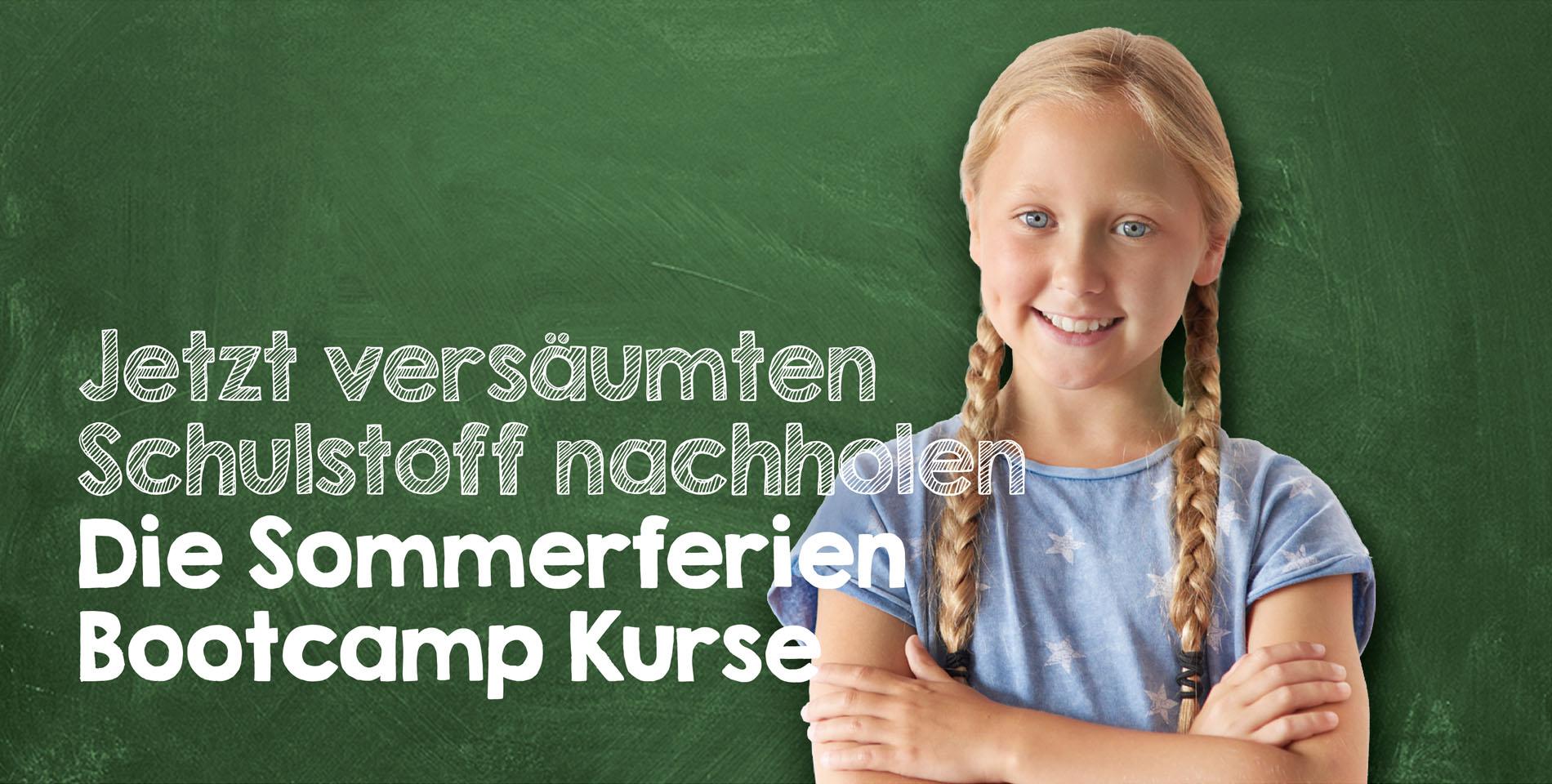 Sommerferien 2020 Bootcamp Kurse versäumten Stoff Corona nachholen Nachhilfe Fürth Nürnberg